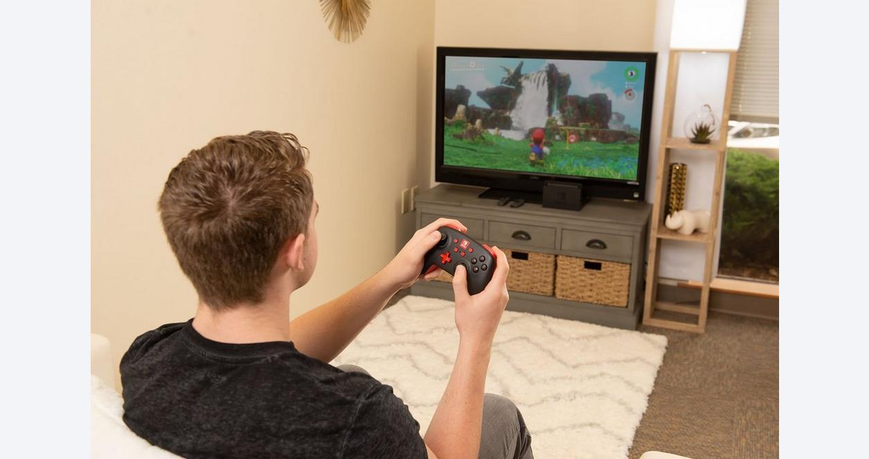 Nintendo Switch Black Enhanced Wireless Controller