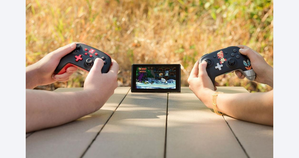 Black Enhanced Wireless Controller for Nintendo Switch