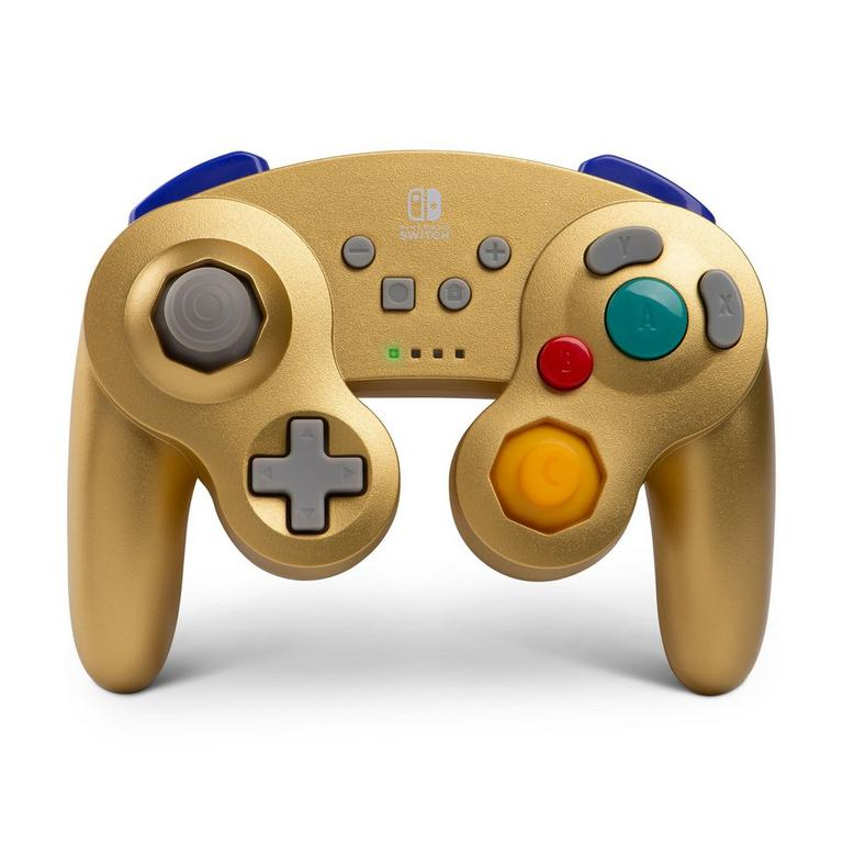 PowerA Nintendo Switch Wireless Gold GameCube Controller Available At GameStop Now!