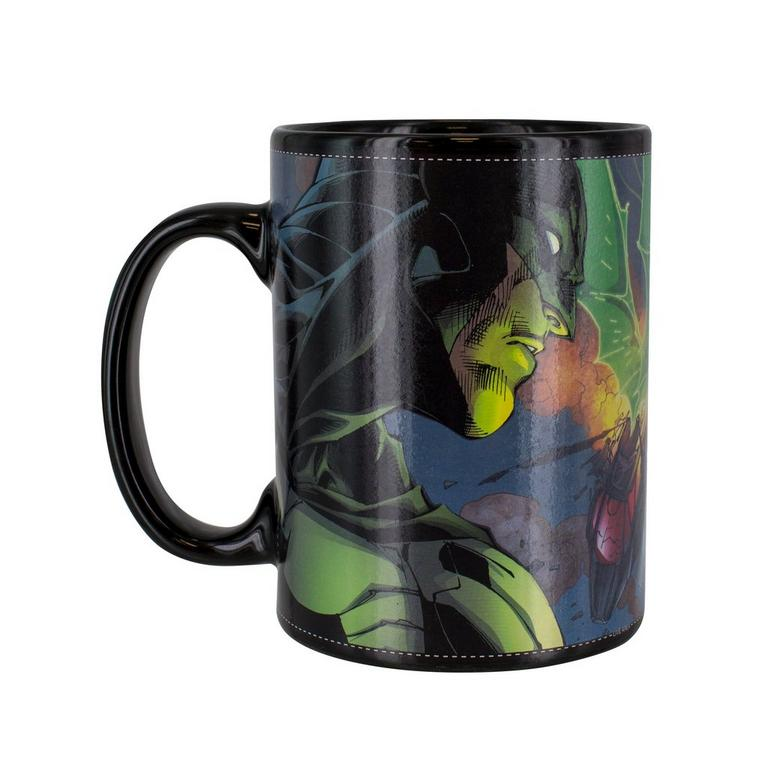 Jim Lee Batman Heat Change Mug: Batman