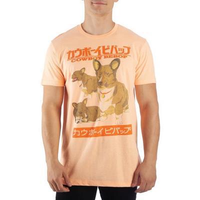 Cowboy Bebop Ein the Corgi T-Shirt