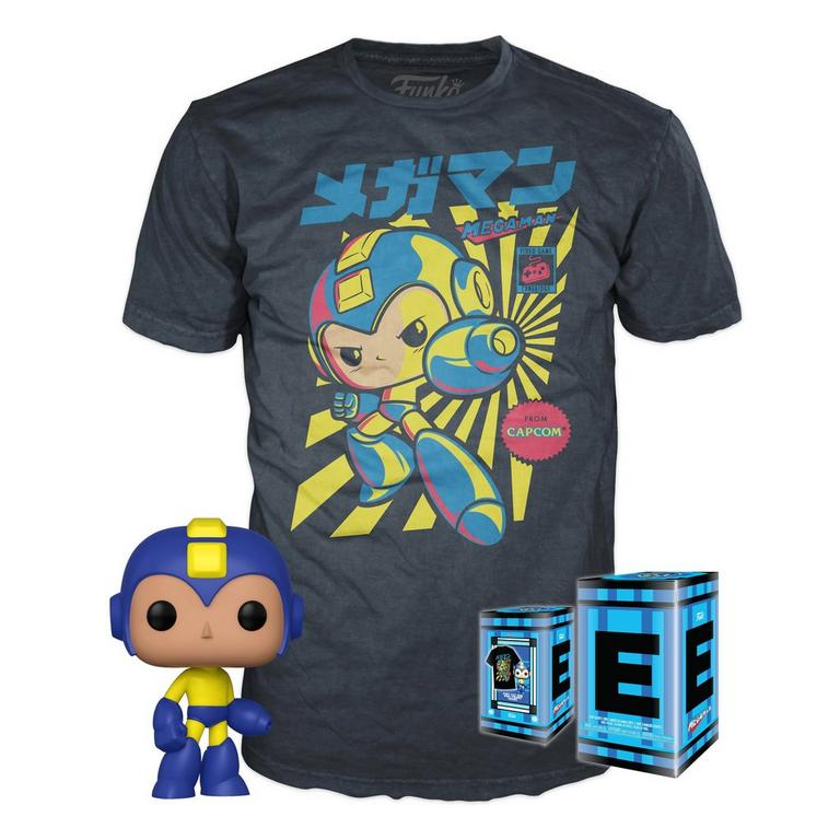 POP! and Tee: Retro Mega Man T-Shirt