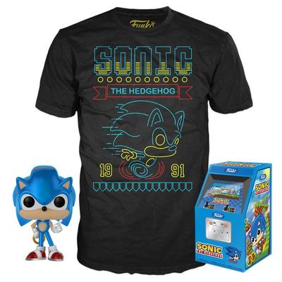 POP! and Tee: Sonic The Hedgehog T-Shirt Only at GameStop
