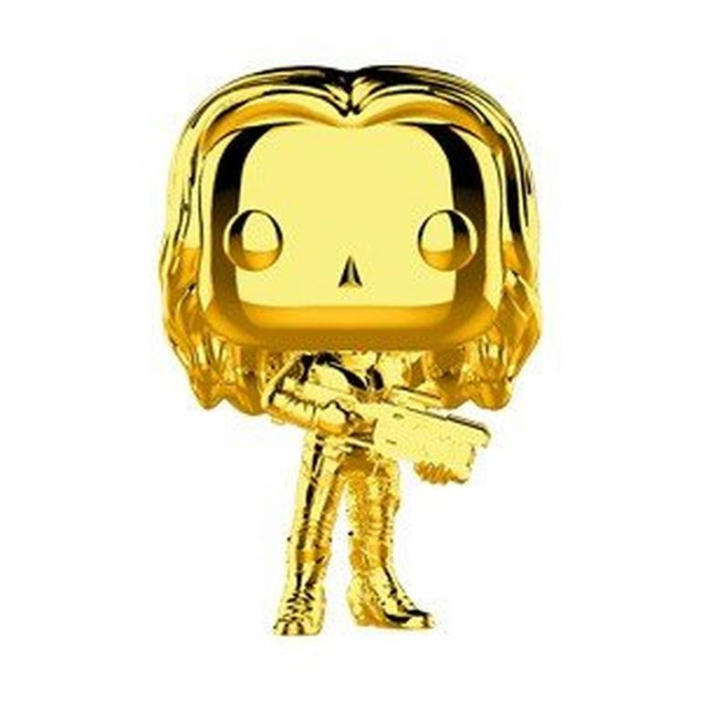 POP! Marvel Studios The First Ten Years: Gamora Gold Chrome