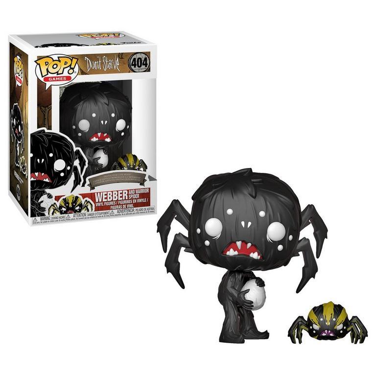 POP! Games: Don't Starve Webber and Warrior Spider