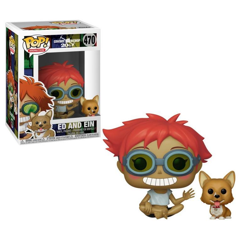POP! Animation: Cowboy Bebop Ed and Ein