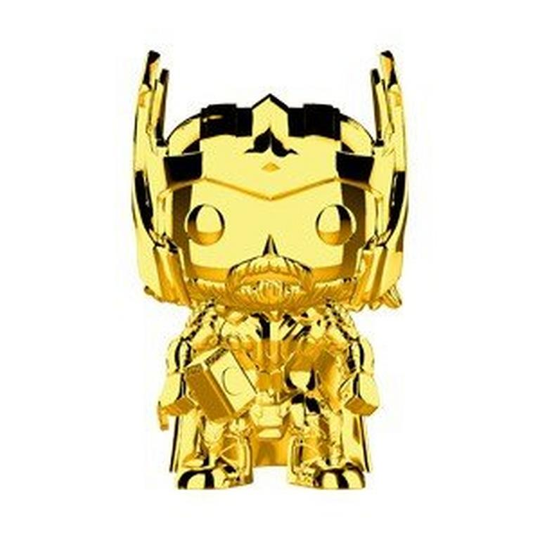 POP! Marvel: The First 10 Years - Thor (Gold Chrome)