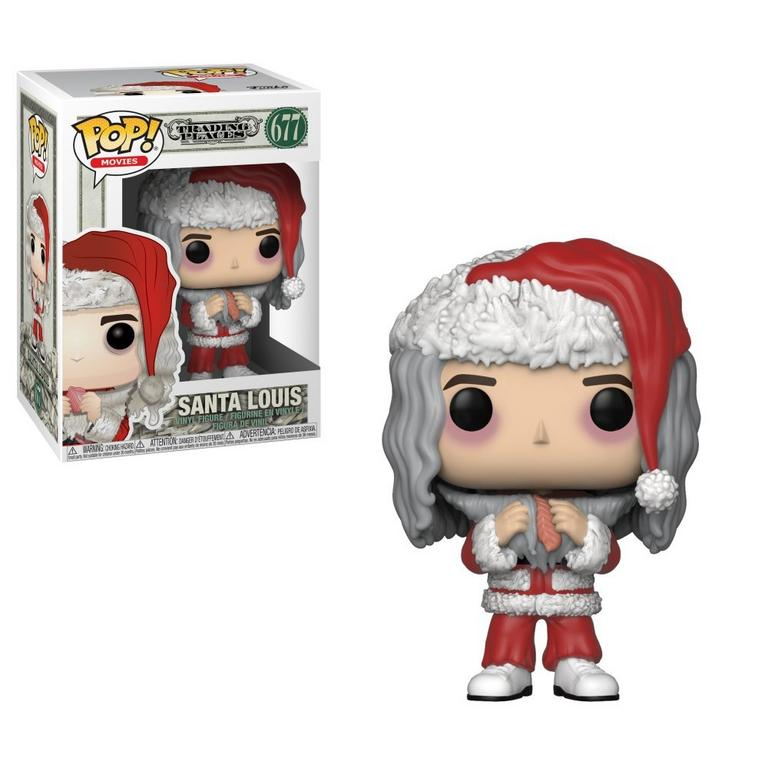 POP! Movies: Trading Places - Santa Louis with Salmon