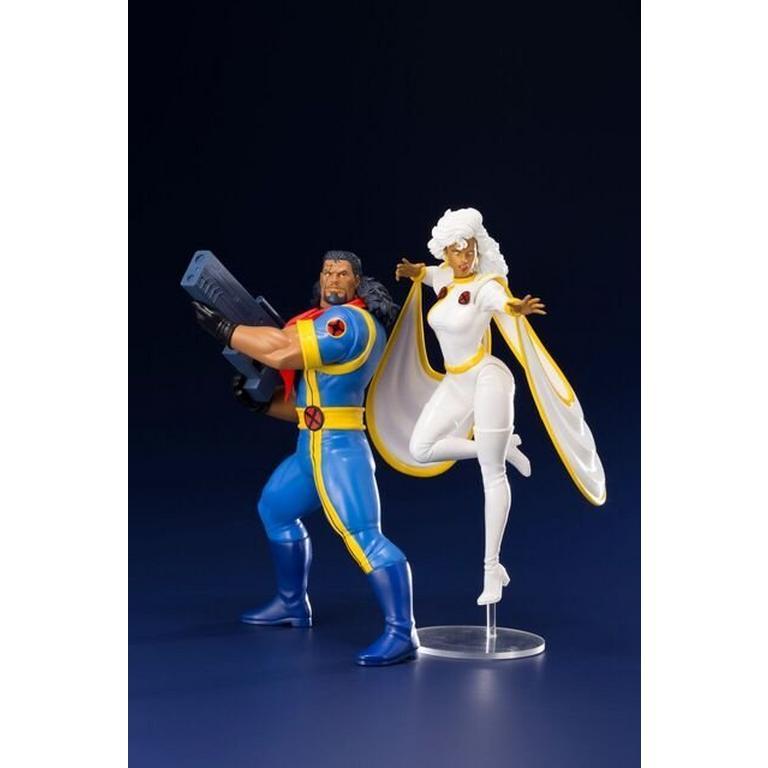 Marvel BISHOP and STORM Statue set