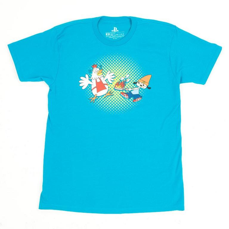 PaRappa the Rapper Rappin Chicken Hot Fire T-Shirt
