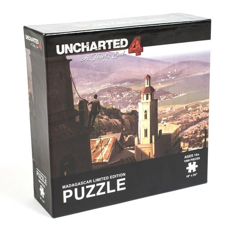Uncharted 4 Madagascar Limited Edition Puzzle