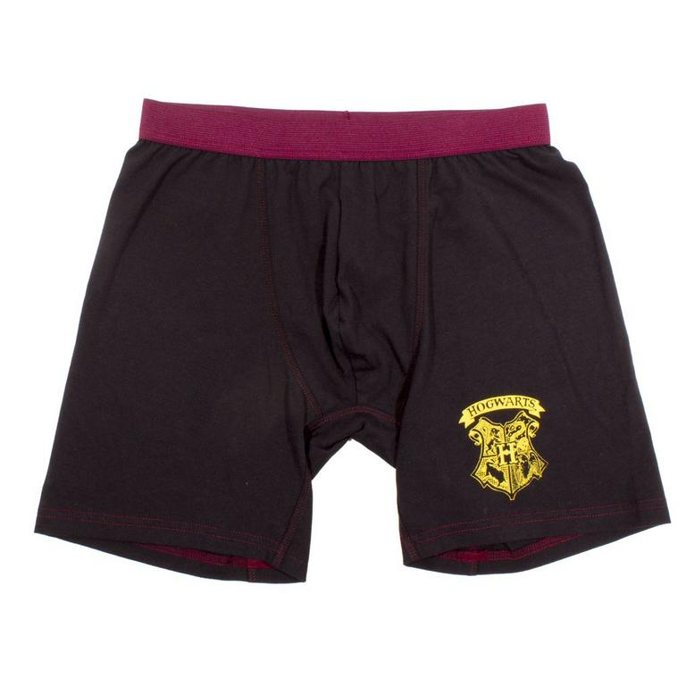 Harry Potter Hogwarts Crest Boxer Shorts