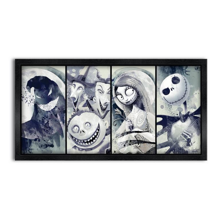 Nightmare Before Christmas Print 16x8 inch