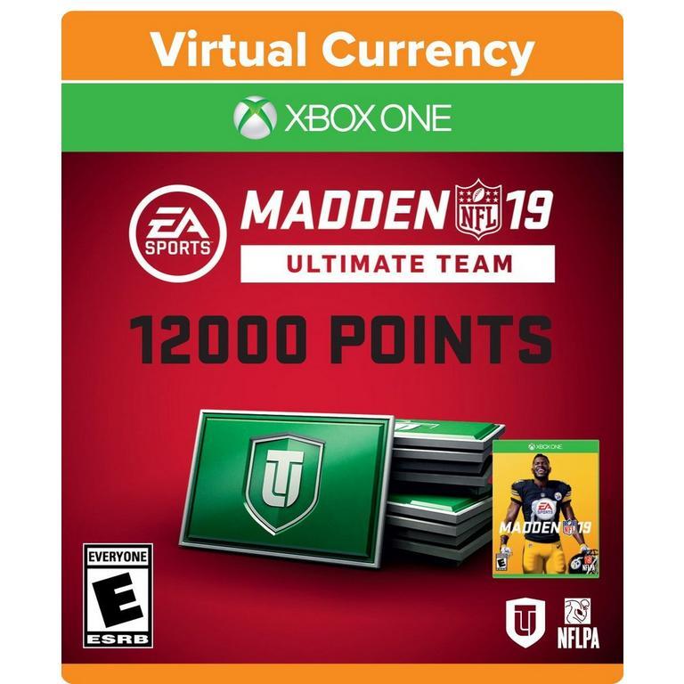Madden NFL 19 - 12000 Ultimate Team Points