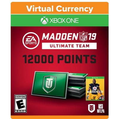Madden NFL 19 12000 Ultimate Team Points Digital Card