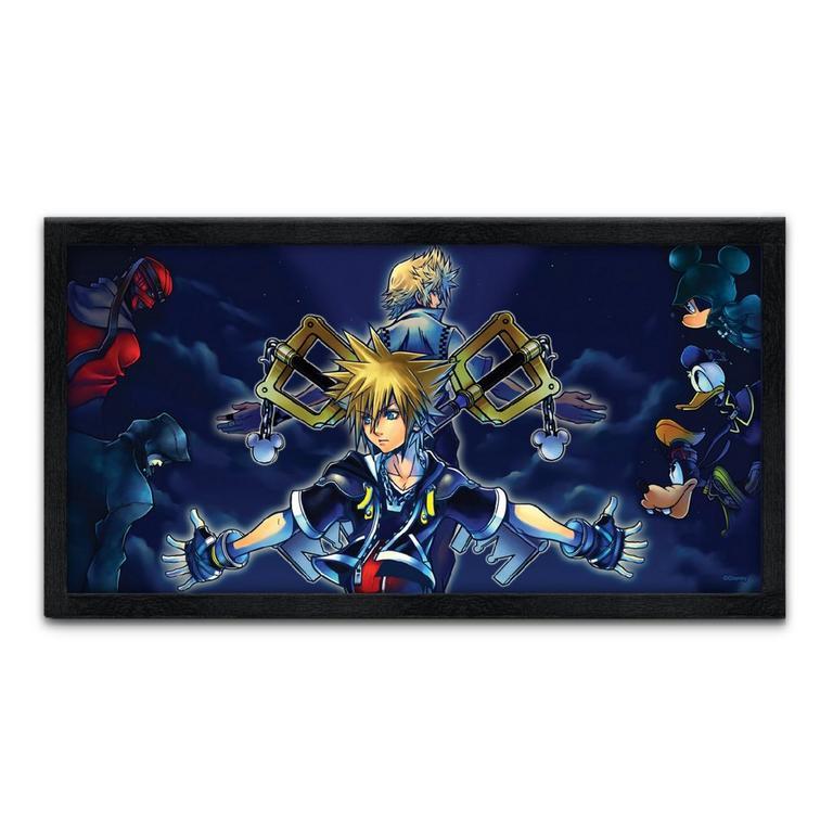 Kingdom Hearts Print 16x8 inch