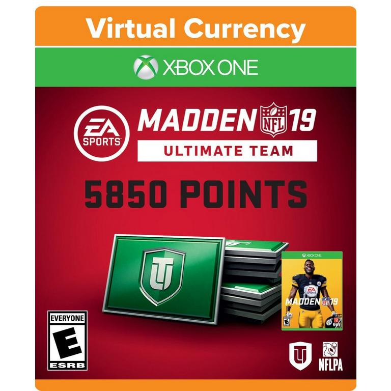 Madden NFL 19 Ultimate Team 5,850 Points