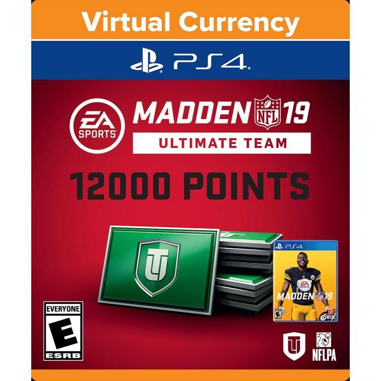 Madden NFL 19 Ultimate Team 12,000 Points