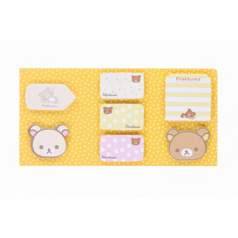 Rilakkuma Sticky NoteSet Stationery