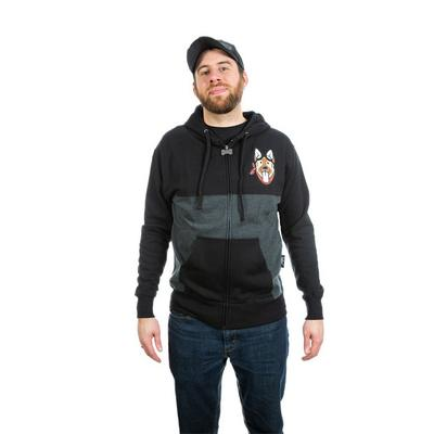 Fallout Dogmeat Zip-Up Hoodie