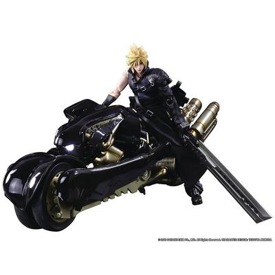 FINAL FANTASY VII ADVENT CHILDREN Cloud Strife and Fenrir Play Arts Kai Action Figure Set