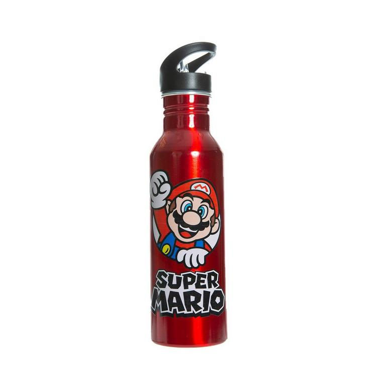 Super Mario Knockout Water Bottle