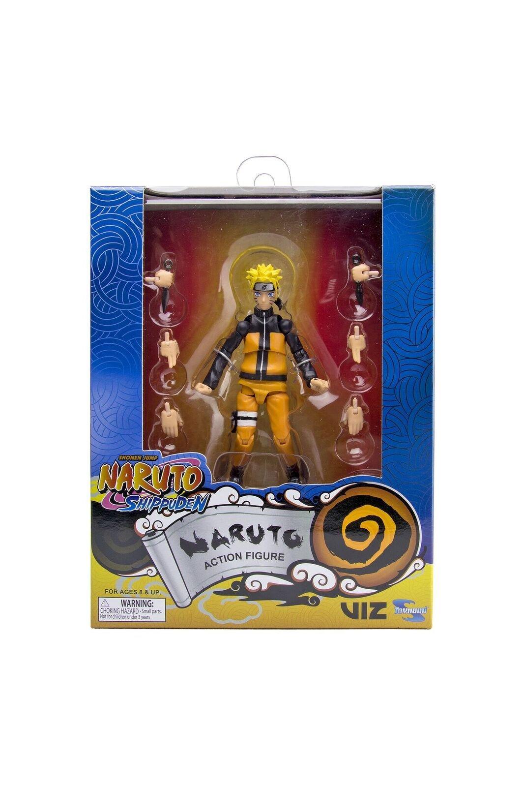 Naruto Shippuden Naruto Action Figure 4 inch | GameStop