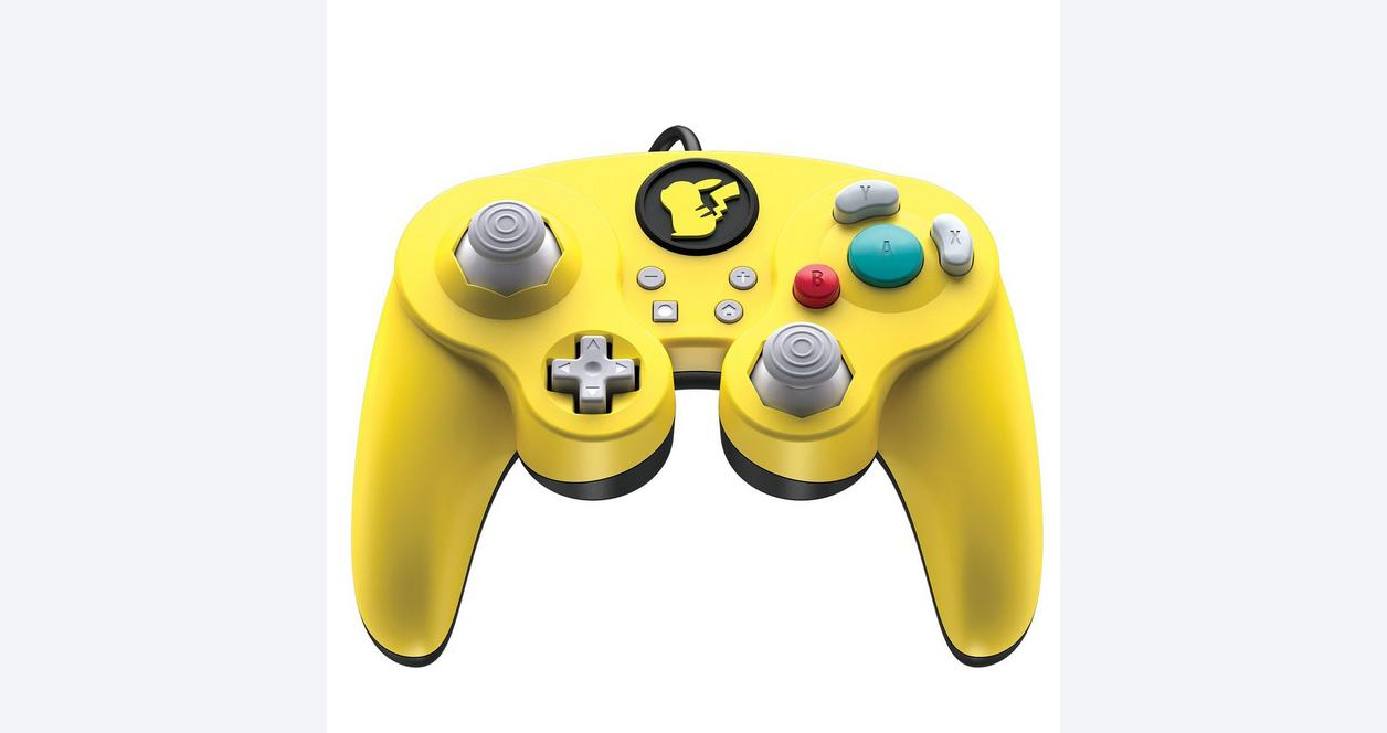Nintendo Switch Wired Fight Pad Pro Controller Pikachu Edition