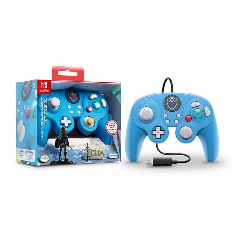 Nintendo Switch Wired Fight Pad Pro Controller The Legend of Zelda Edition