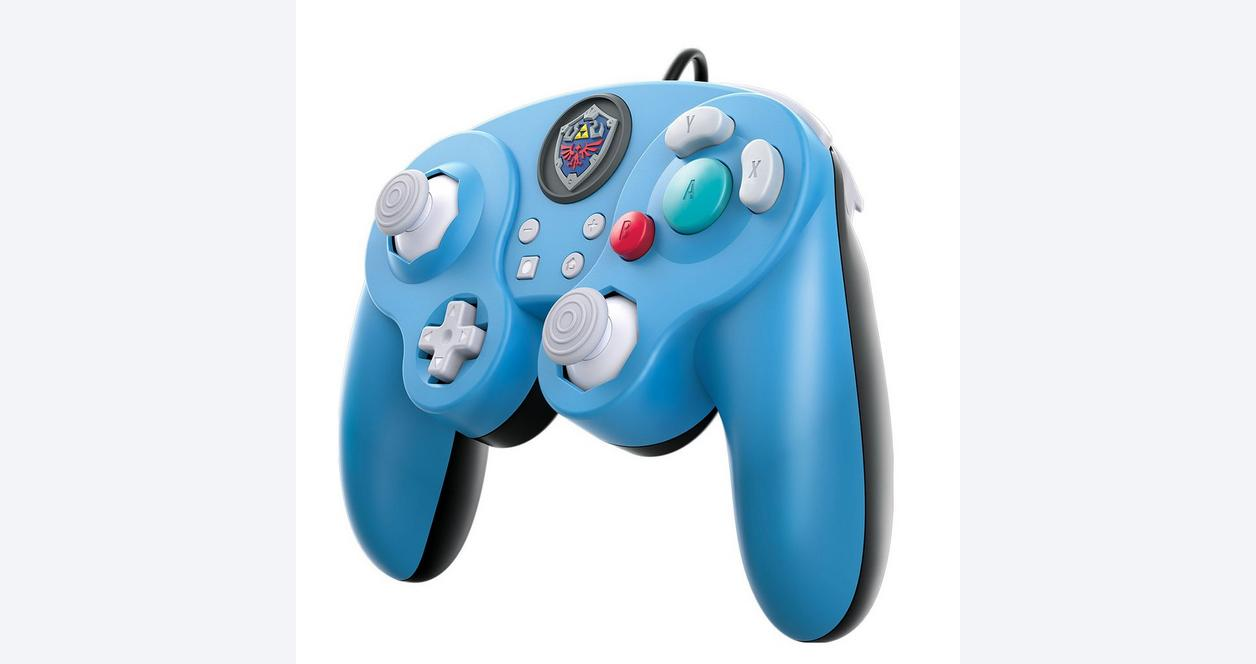 Nintendo Switch Super Smash Bros. Ultimate The Legend of Zelda Wired Fight Pad Pro Controller