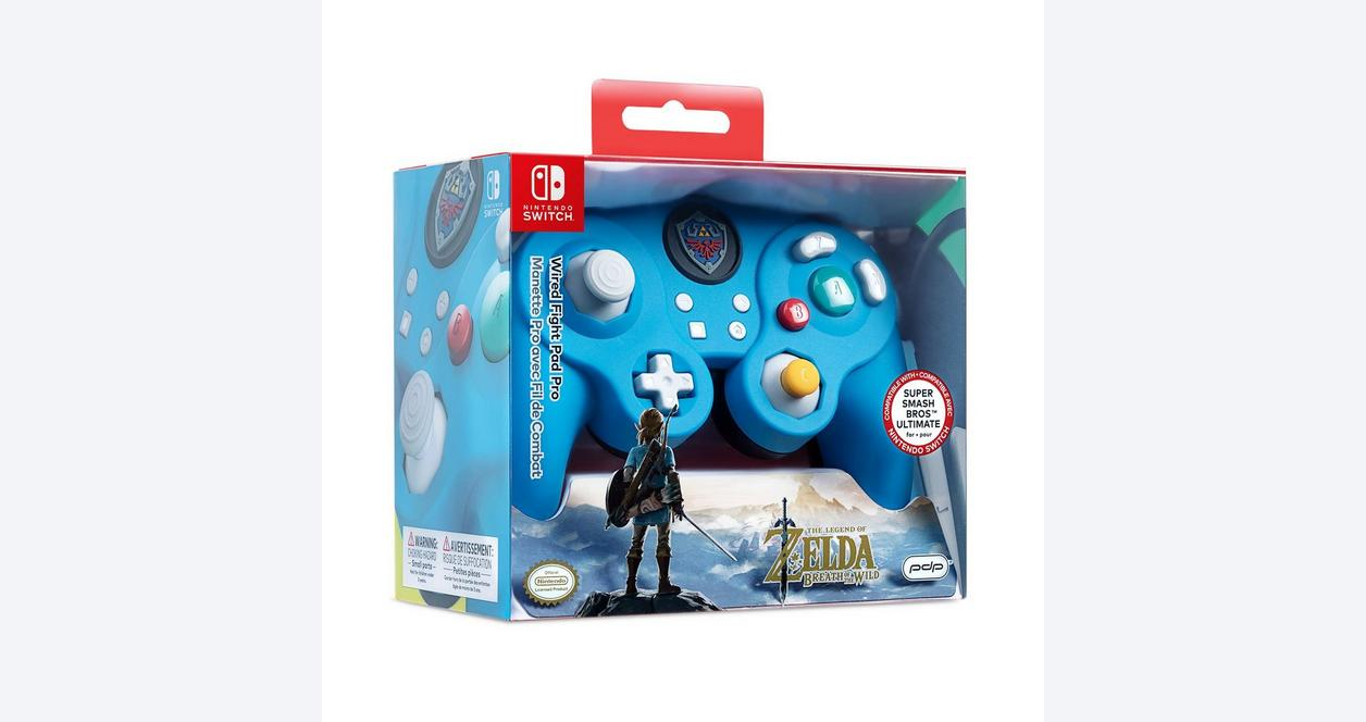 Nintendo Switch The Legend of Zelda Edition Wired Fight Pad Pro Controller