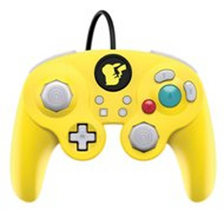 Nintendo Switch Super Smash Bros. Ultimate Pikachu Edition Wired Fight Pad Pro Controller