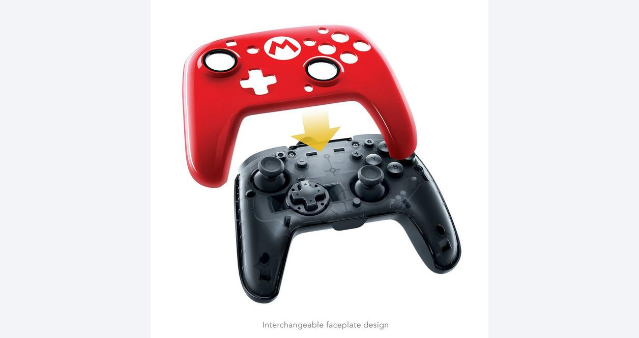 Nintendo Switch Mario M Face-Off Wired Controller