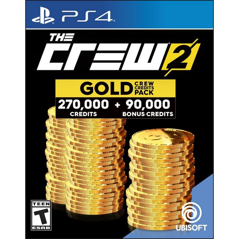 The Crew 2 Gold Credit Pack