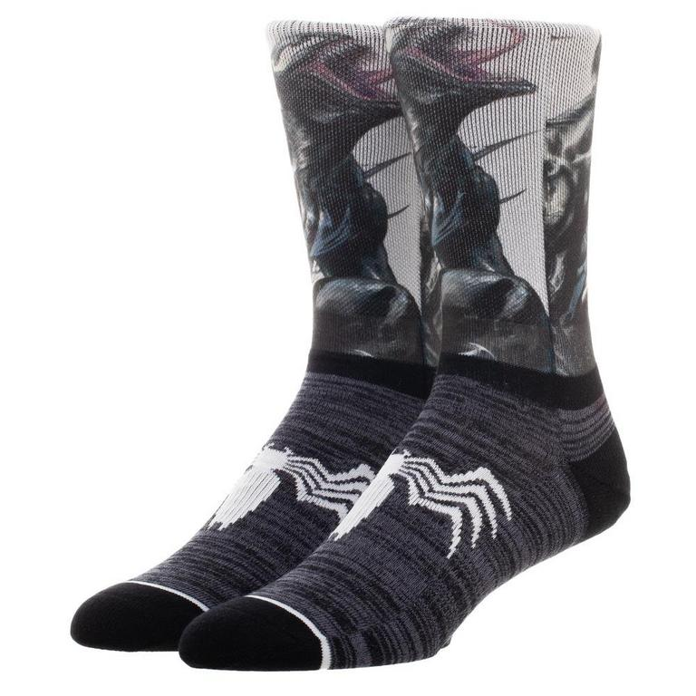 Marvel Venom Panel Crew Sock