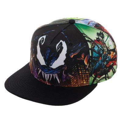 Marvel Venomized Sublimated Baseball Cap