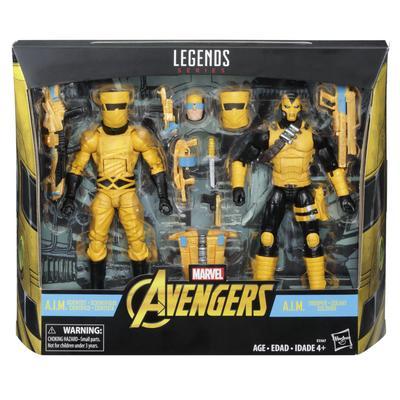Marvel Legends A.I.M. Scientist and Shock Trooper 2 Pack Summer Convention 2018