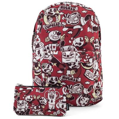 Cuphead Characters Backpack and Coin Bag Summer Convention 2018