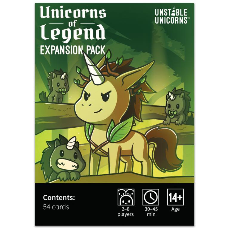 Unstable Unicorns - Unicorns of Legend Expansion Pack