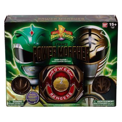 Power Rangers Legacy Green Ranger and White Ranger Power Morpher