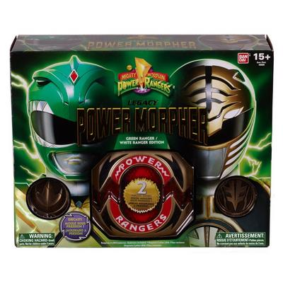 Power Rangers Legacy Power Morpher - Green Ranger/White Ranger Edition