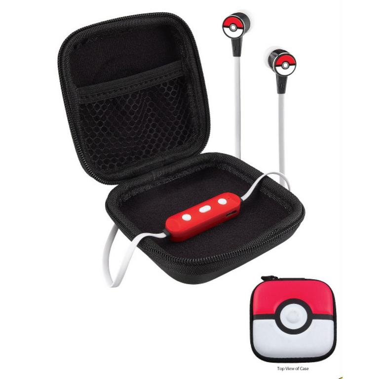 Pokemon Bluetooth Wireless Earbuds and Travel Case