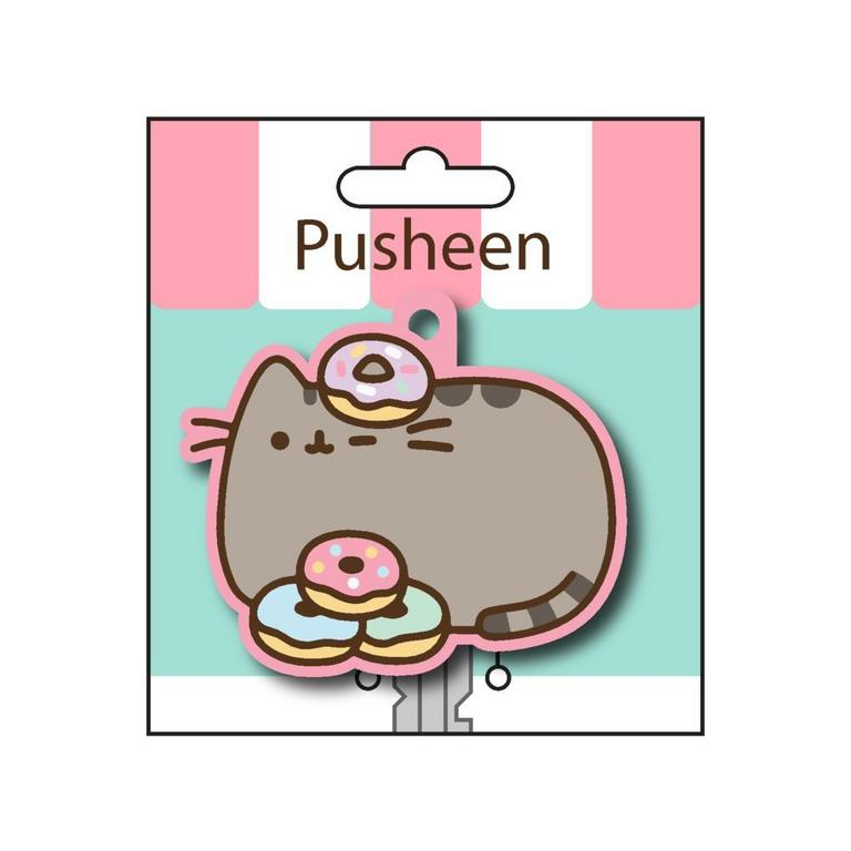 Pusheen The Cat Donuts Key Cover