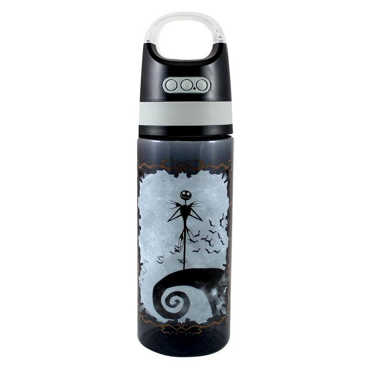 Nightmare Before Christmas Water Bottle with Wireless Bluetooth Speaker