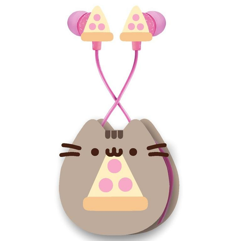 Pusheen The Cat Pizza Earbuds