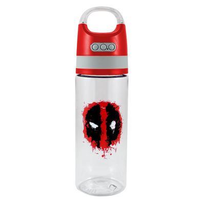 Deadpool Water Bottle with Wireless Bluetooth Speaker
