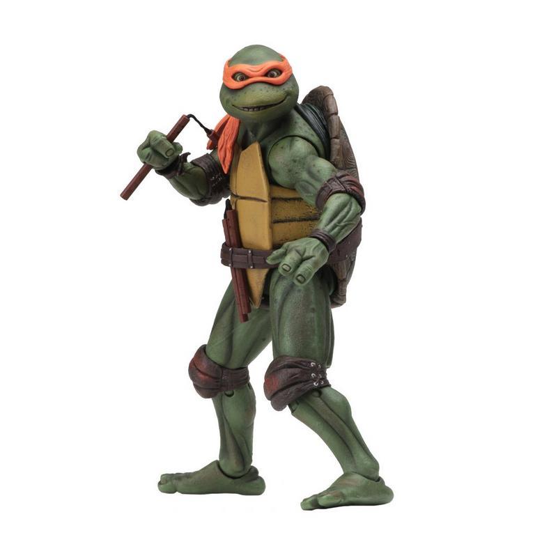 Teenage Mutant Ninja Turtles 90's Movie Michelangelo Action Figure Only at GameStop