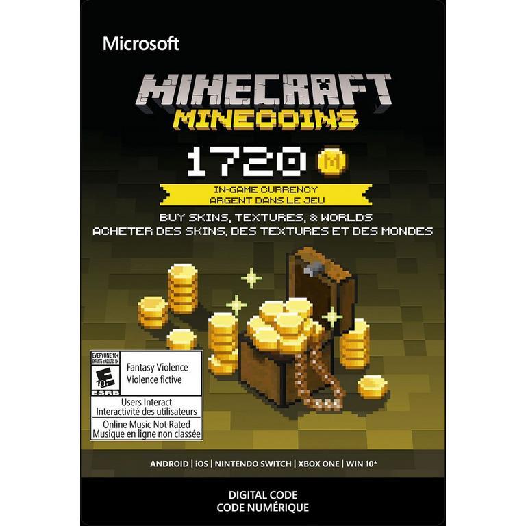 Minecraft 1720 Minecoins