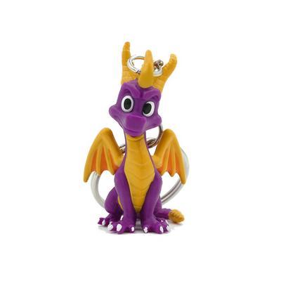 Spyro the Dragon 3D Keychain