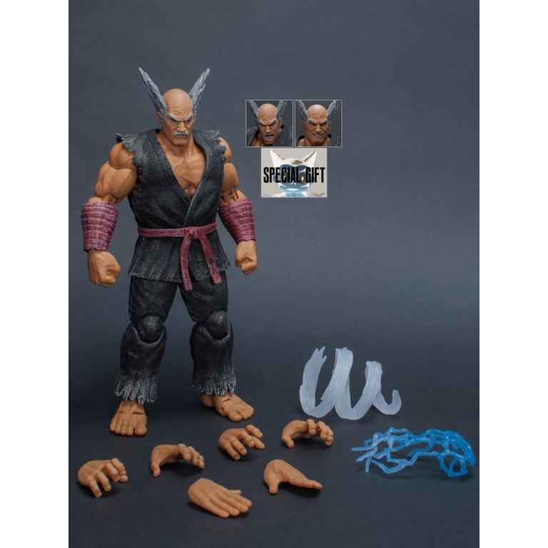 Tekken 7 Heihachi Mishima Action Figure Summer Convention 2018